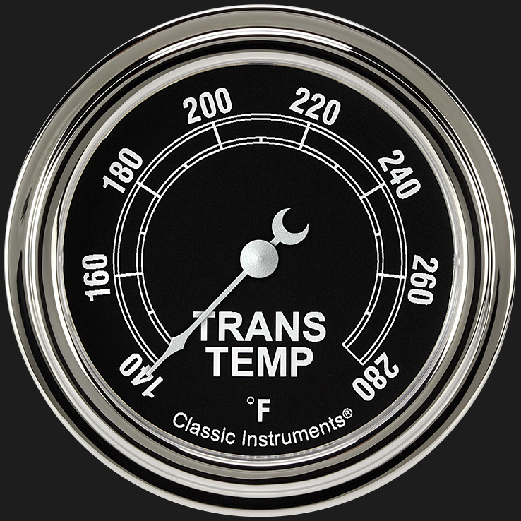 """Picture of Traditional 2 5/8"""" Transmission Temperature Gauge"""