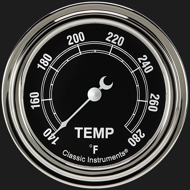 """Picture of Traditional 2 5/8"""" Water Temperature Gauge"""