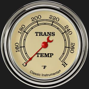 "Picture of Vintage 2 5/8"" Transmission Temperature Gauge"