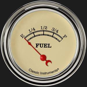 "Picture of Vintage 2 5/8"" Fuel Gauge"