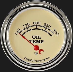 "Picture of Vintage 2 5/8"" Oil Temperature Gauge"