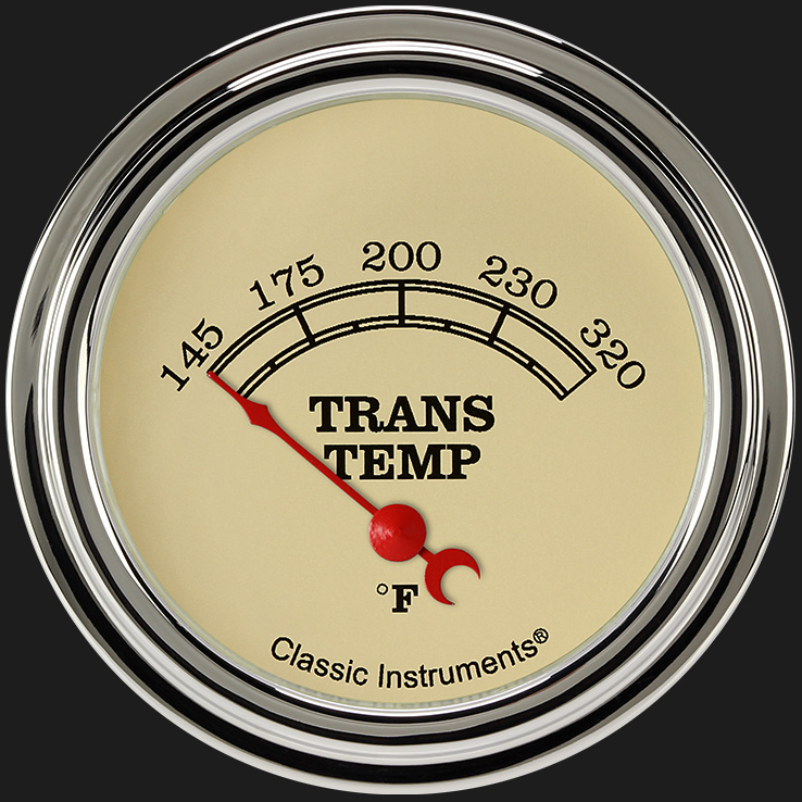 "Picture of Vintage 2 5/8"" Transmission Temperature Gauge"