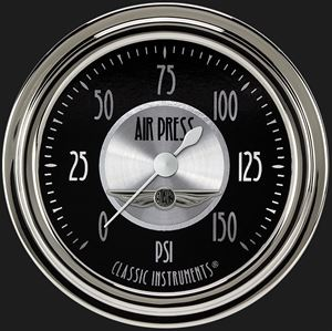 """Picture of All American Tradition 2 5/8"""" Air Pressure Gauge"""