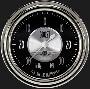 """Picture of All American Tradition 2 5/8"""" Boost/Vac Gauge"""