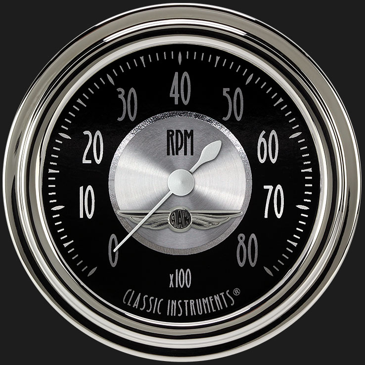"""Picture of All American Tradition 2 5/8"""" Tachometer"""