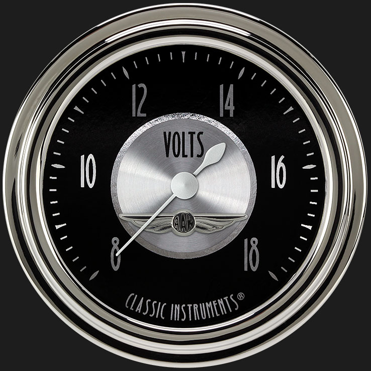"""Picture of All American Tradition 2 5/8"""" Voltage Gauge"""