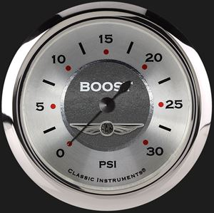 """Picture of All American 2 5/8"""" Boost Gauge, 30 psi"""
