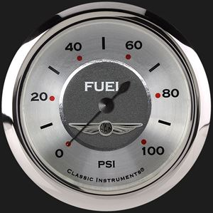 """Picture of All American 2 5/8"""" Fuel Pressure Gauge, 100 psi"""