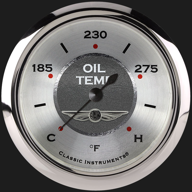 """Picture of All American 2 5/8"""" Oil Temperature Gauge"""