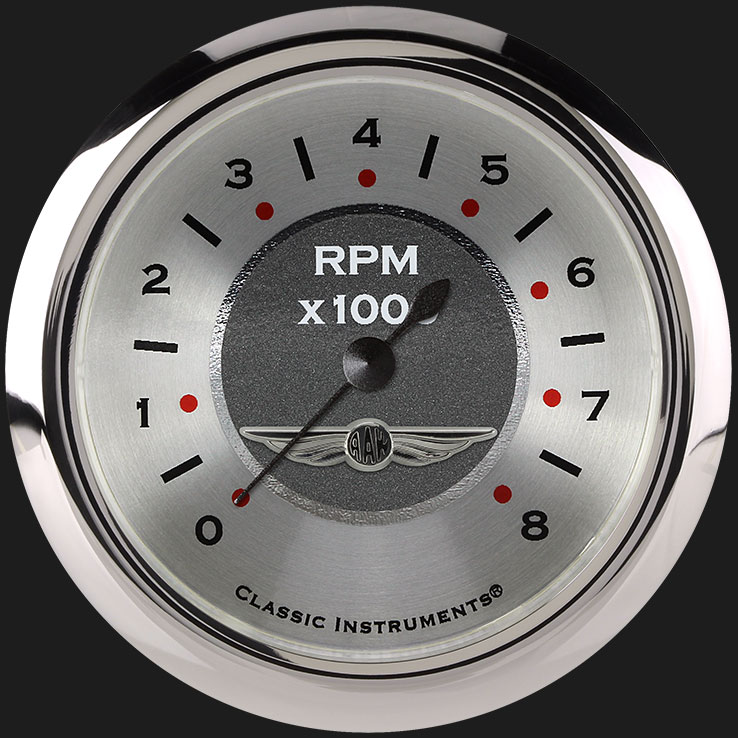 """Picture of All American 2 5/8"""" Tachometer"""