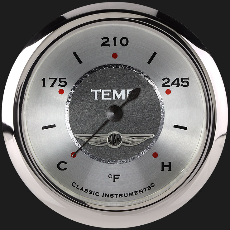 """Picture of All American 2 5/8"""" Water Temperature Gauge"""