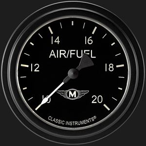 """Picture of Moal Bomber 2 5/8"""" Air Fuel Ratio Gauge"""
