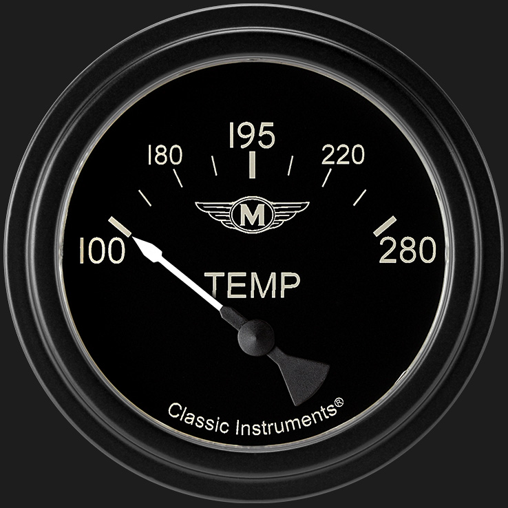 "Picture of Moal Bomber 2 5/8"" Water Temp Gauge"