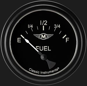 """Picture of Moal Bomber 2 5/8"""" Fuel Gauge"""