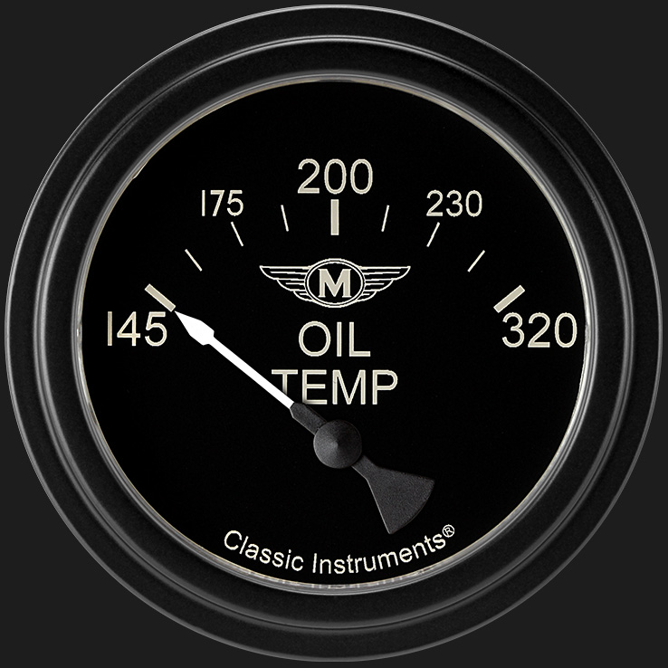 "Picture of Moal Bomber 2 5/8"" Oil Temperature Gauge"