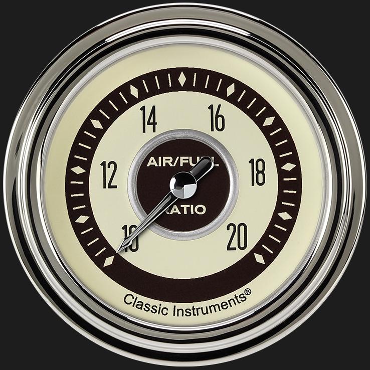 """Picture of Nostalgia VT 2 5/8"""" Air Fuel Ratio Gauge"""