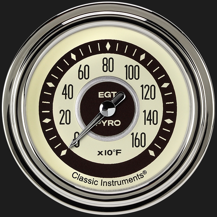 "Picture of Nostalgia VT 2 5/8"" Exhaust Gas Temp. Gauge"
