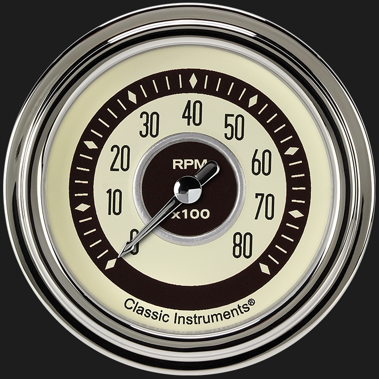 """Picture of Nostalgia VT 2 5/8"""" Tachometer"""