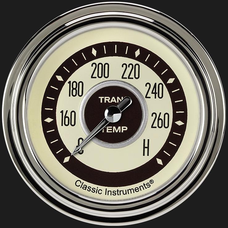 """Picture of Nostalgia VT 2 5/8"""" Transmission Temperature Gauge"""