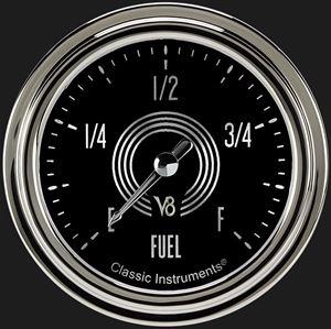 """Picture of V8 Speedster 2 5/8"""" Fuel Gauge"""