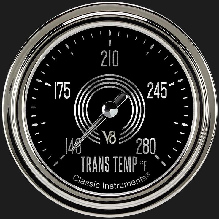 """Picture of V8 Speedster 2 5/8"""" Transmission Temperature Gauge"""