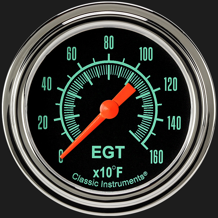 "Picture of G/Stock 2 5/8"" Exhaust Gas Temp. Gauge"