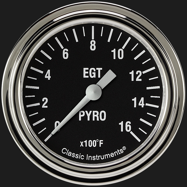 "Picture of Hot Rod 2 5/8"" Exhaust Gas Temp. Gauge"