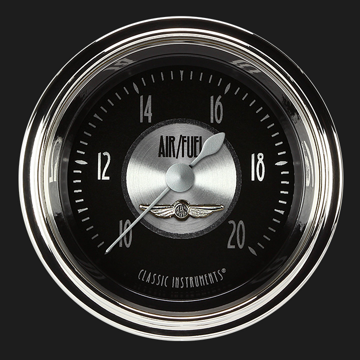 """Picture of All American Tradition 2 1/8"""" Air Fuel Ratio Gauge"""