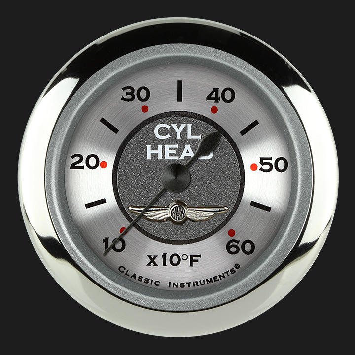 """Picture of All American 2 1/8"""" Cylinder Head Temp. Gauge"""