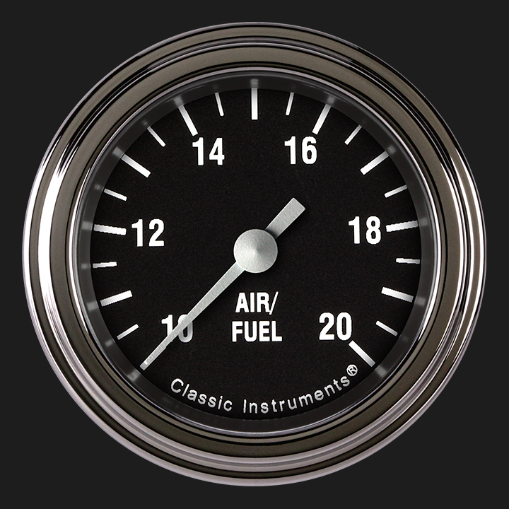 """Picture of Hot Rod 2 1/8"""" Air Fuel Ratio Gauge"""