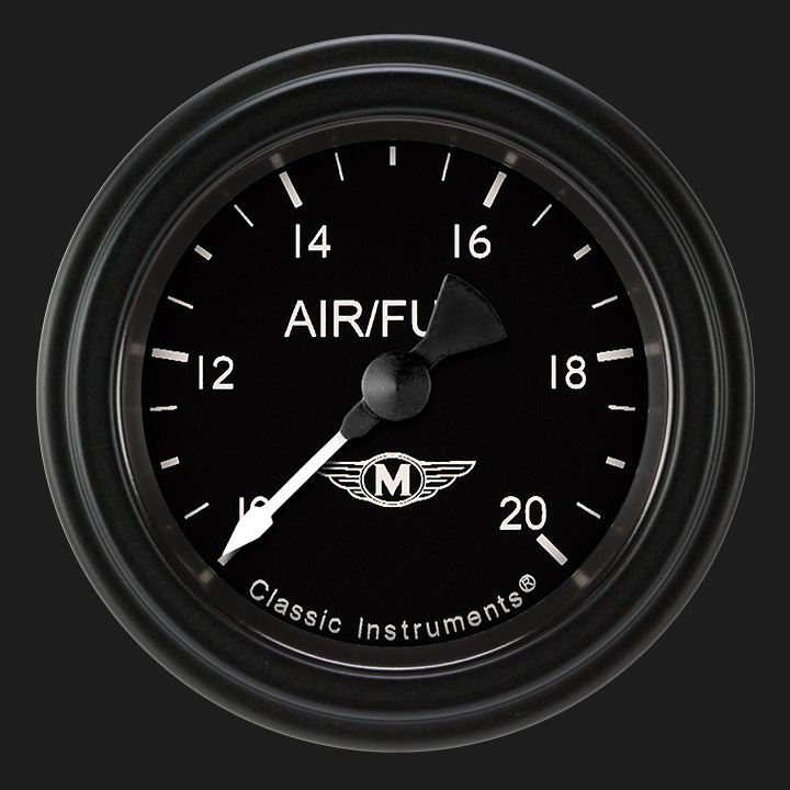 """Picture of Moal Bomber 2 1/8"""" Air Fuel Ratio Gauge"""