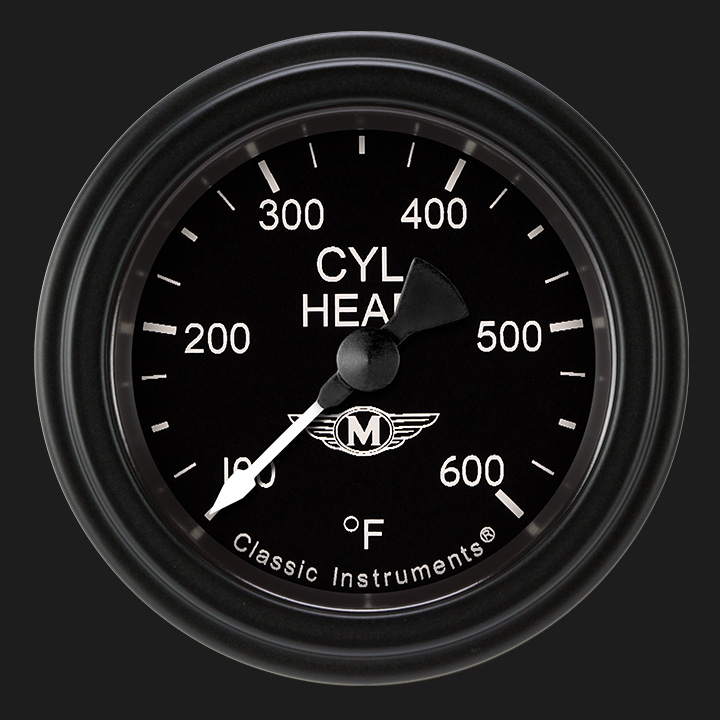 """Picture of Moal Bomber 2 1/8"""" Cylinder Head Temp. Gauge"""