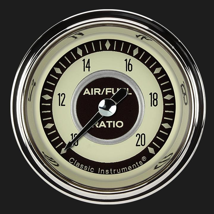 """Picture of Nostalgia VT 2 1/8"""" Air Fuel Ratio Gauge"""