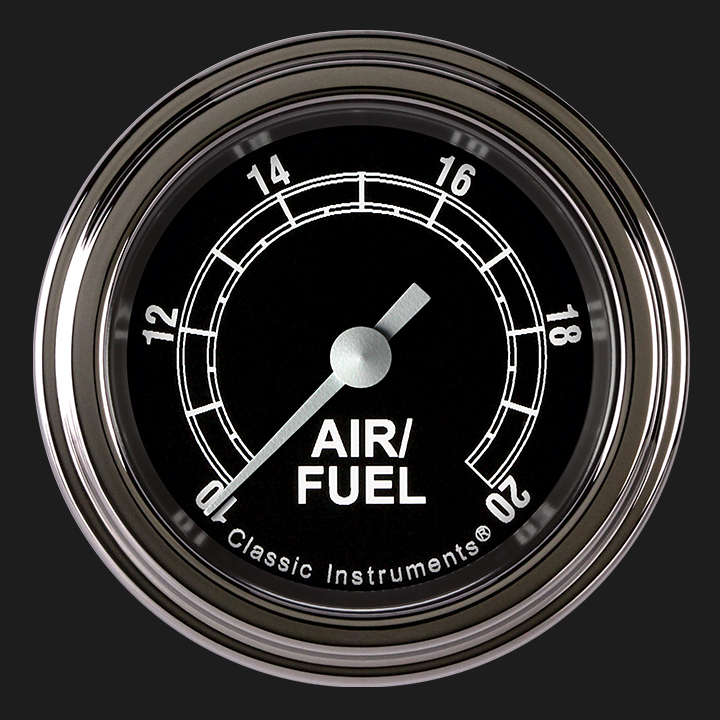 """Picture of Traditional 2 1/8"""" Air Fuel Ratio Gauge"""