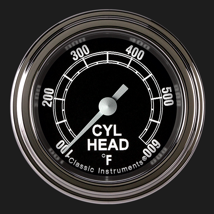 """Picture of Traditional 2 1/8"""" Cylinder Head Temp. Gauge"""