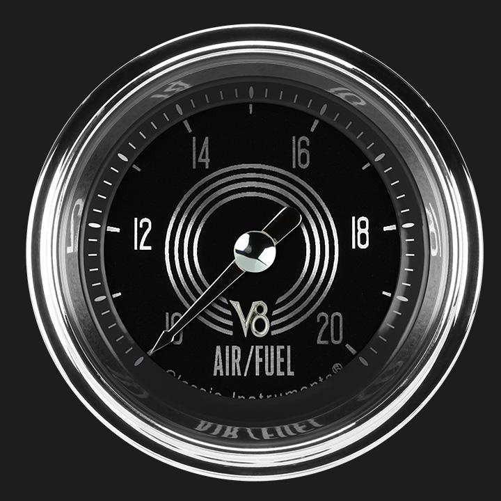 """Picture of V8 Speedster 2 1/8"""" Air Fuel Ratio Gauge"""