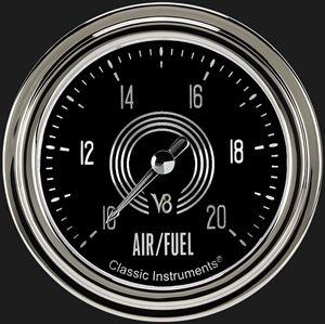 """Picture of V8 Speedster 2 5/8"""" Air Fuel Ratio Gauge"""