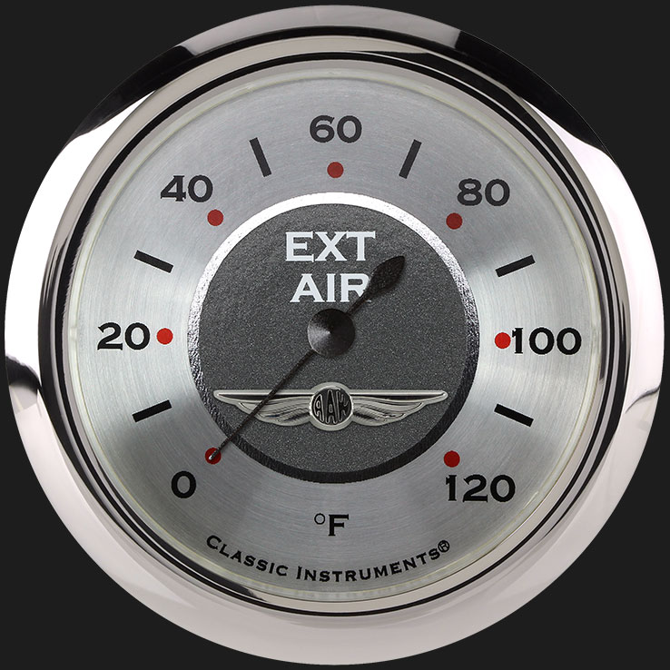 """Picture of All American 2 5/8"""" Outside Air Temp Gauge"""