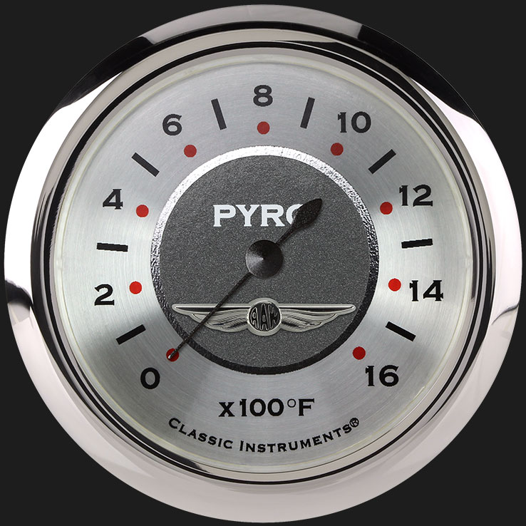 """Picture of All American 2 5/8"""" Exhaust Gas Temp. Gauge"""