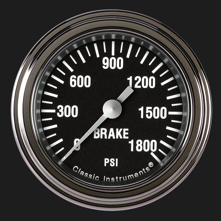 "Picture of Hot Rod 2 1/8"" Brake Pressure Gauge"