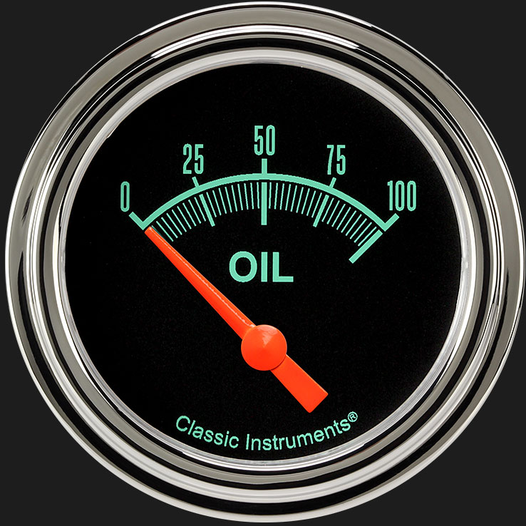 """Picture of G/Stock 2 5/8"""" Oil Pressure Gauge"""