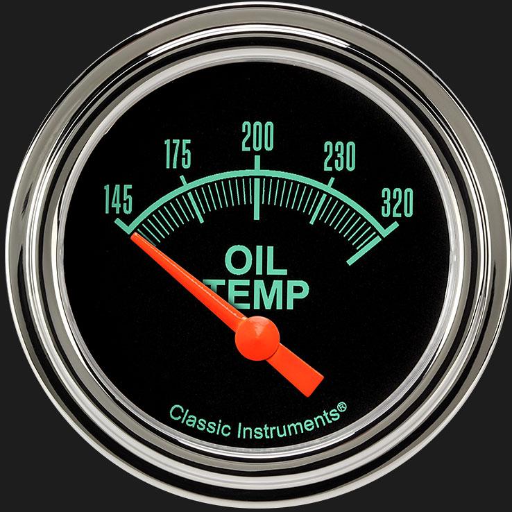"Picture of G/Stock 2 5/8"" Oil Temperature Gauge"
