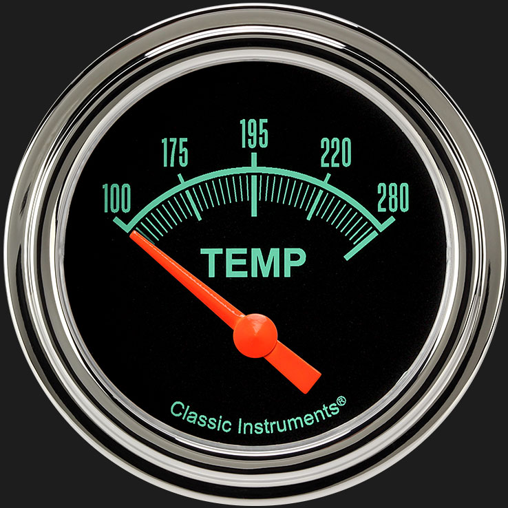 """Picture of G/Stock 2 5/8"""" Water Temperature Gauge"""