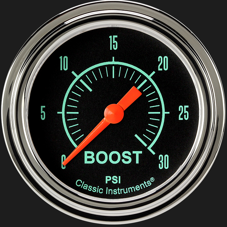 "Picture of G/Stock 2 5/8"" Boost Gauge, 30 psi"