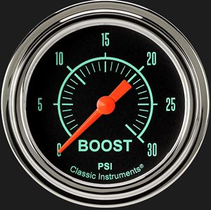 """Picture of G/Stock 2 5/8"""" Boost Gauge, 30 psi"""