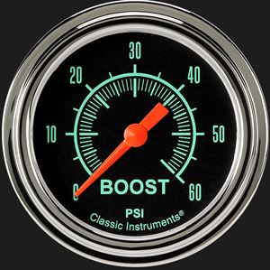 "Picture of G/Stock 2 5/8"" Boost Gauge, 60 psi"
