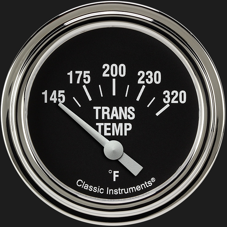 "Picture of Hot Rod 2 5/8"" Transmission Temperature Gauge"