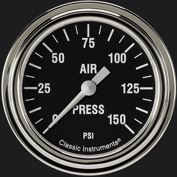 "Picture of Hot Rod 2 5/8"" Air Pressure Gauge"