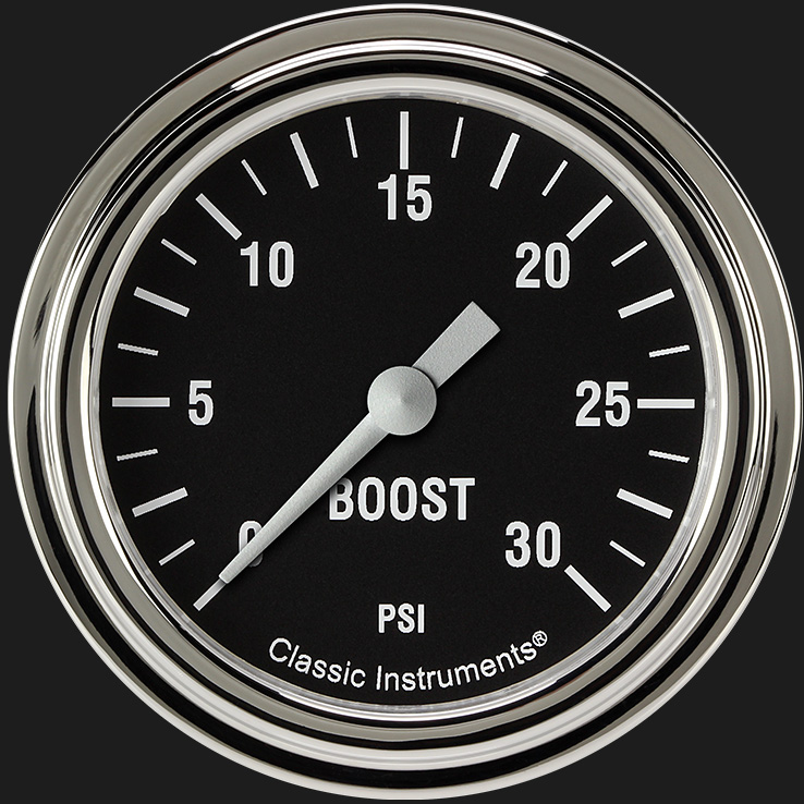 "Picture of Hot Rod 2 5/8"" Boost Gauge, 30 psi"