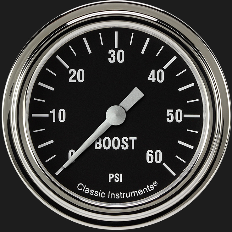 "Picture of Hot Rod 2 5/8"" Boost Gauge, 60 psi"